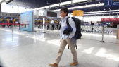 Le Petit SYRIEN HAIDAR arrivée airoport Mohammed V Casablanca 9 septembre 2015