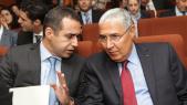 Ismail Douiri,DG Attijariwafa bank et Mohamed el-Kettani,PDG Attijariwafa Bank