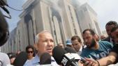 Anas Sfrioui PDG du groupe addoha Incendie au siege ADDOHA Casablanca 7 octobre 2015