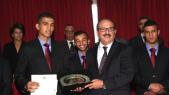 Mohamed Rabii et Lahcen Sekkouri, ministrede la jeunesse et des sports