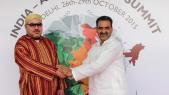 Le roi Mohammed VI en Inde