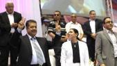Hamid Chabat, Yasmina Baddou et Karim Ghellab