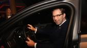 Tobias Ellwood,Secrétaire d'Etat britannique chargé de la région MENA au volant de la JAGUAR
