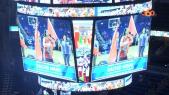 cover video -  الأمريكي NBA المسيرة الخضراء في افتتاح دوري