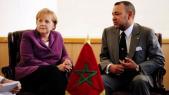 Mohammed VI et Merkel