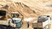 carrière de sable