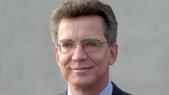 Thomas de Maizière, ministre allemand de l'Intérieur