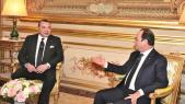Mohammed VI et François Hollande