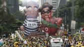 Brésil manif
