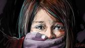 Violence contre les femmes - Dessin