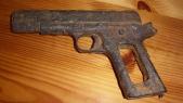 Pistolet rouillé