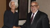Christine Lagarde et Abdelilah Benkirane