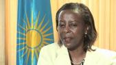 Mme Louise Mushikiwabo, ministre rwandaise des Affaires étrangères
