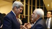 John Kerry et Javad Zarif