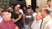 cover video - Manifestation contre  lahcen Haddad
