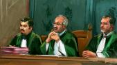 Tribunal juges dessin