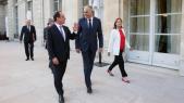 Mezouar reçu par Hollande