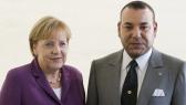 Mohammed VI Merkel
