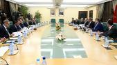 Hassad rencontre es secrétaires généraux des partis.