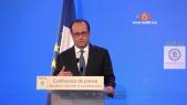 Cover Video - Le360.ma • François Hollande salue les efforts du roi Mohammed VI