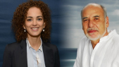 Leila Slimani et tahar Benjeloun