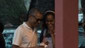 Barack et Malia