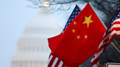 Drapeau Chine USA