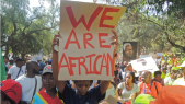 We are african le raciste prend des proportions graves en Afrique du Sud