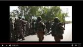 """Vidéo. L'incroyable accueil des soldats de la CEDEAO par leurs """"compagnons d'armes"""" gambiens"""