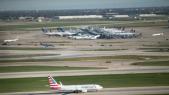 aéroport américain