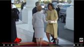 Vidéo. La goujaterie de Trump face à l'élégance d'Obama