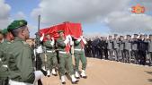 cover vidéo :Le360.ma •جنازة الشهيد هشام  من القبعات الزرق بالخميسات