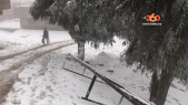 Cover Vidéo... تهاطل الثلوج على منطقة باب برد