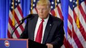 Trump grimace
