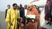 Arrivée Mohammed VI Ghana