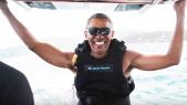 Barack Obama-kitesurf
