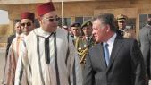 Mohammed VI et le roi Abdallah