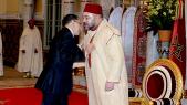 Saâd-eddine El Othmani recu par le roi