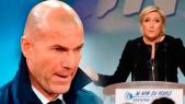 Zidane et Marine