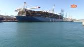 cover video- هكذا استقبل ميناء طنجة المتوسط اكبر سفينة في العالم