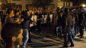 Al Hoceima-Manifestants-Forces de l'ordre