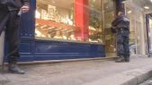 Braquage d'une bijouterie à Paris