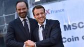 Edouard Philippe et Macron