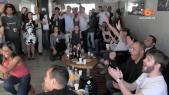 cover video- Casablanca: explosion de joie chez les macronistes