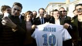 Macron à l'OM