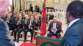 Roi Mohammed VI cérémonie Gazoduc