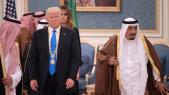 Le roi Salmane d'Arabie saoudite et le président américain Donald Trump