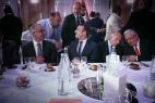 Chakib Benmoussa et Emmanuel Macron