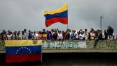 Manifestation contre le président vénézuélien Nicolas Maduro à Caracas