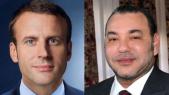 Roi Mohammed VI et Président Macron